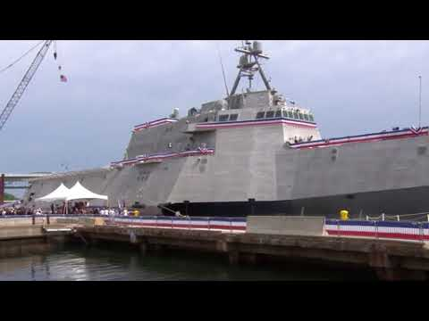 DFN:USS Manchester Commissioning Ceremony, PORTSMOUTH, NH, UNITED STATES, 05.26.2018