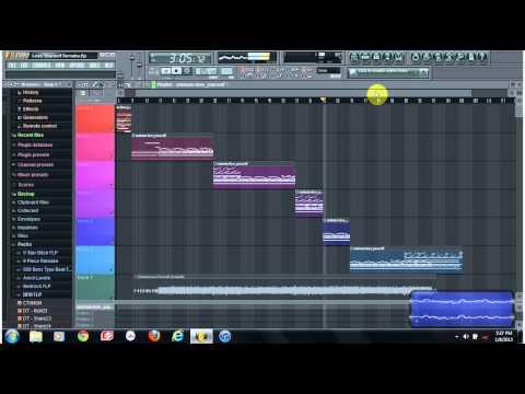 Eminem Lose Yourself Instrumental Remake on FL Studio 10