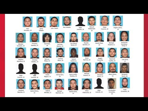 50 Arrested in Stockton Norteño Gang Takedown | RAW Press Conference