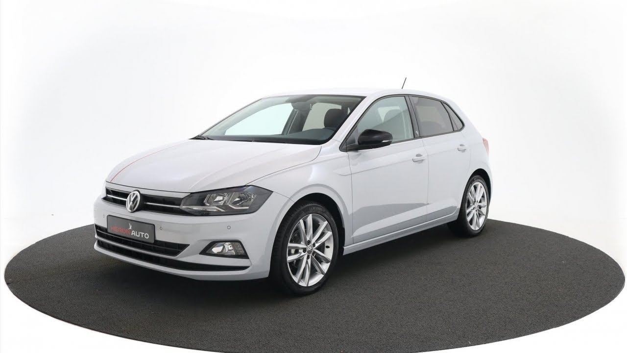 Volkswagen Polo 10 Tsi 95pk Highline Youtube