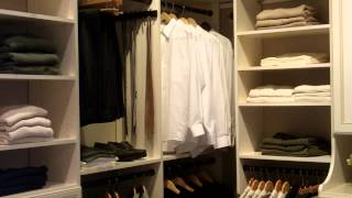 Walk In Closet Corner Design