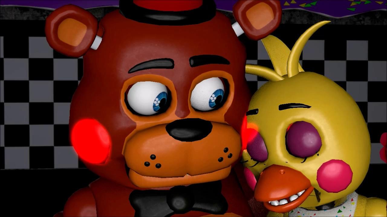 [SFM FNAF] Toy Freddy X Toy Chica