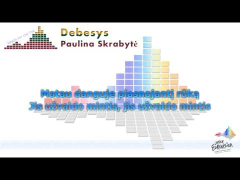 "Paulina Skrabytė ""Debesys"" (Lithuania) - [Karaoke]"