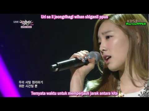 SNSD TaeYeon & Tiffany - Lost In Love (indo sub)