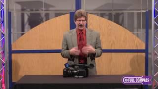 Панасонік АГ-UX180 4К відеокамери огляд | повний компас