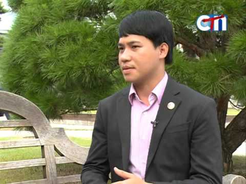 Interview Scholarship Student, Uch Chamroeun in S Korea