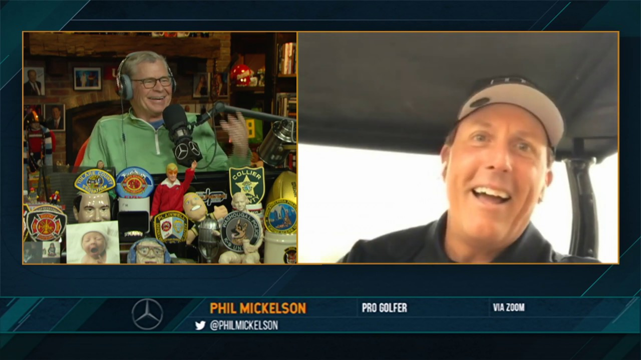Phil Mickelson on the Dan Patrick Show (Full Interview) 05/27/20