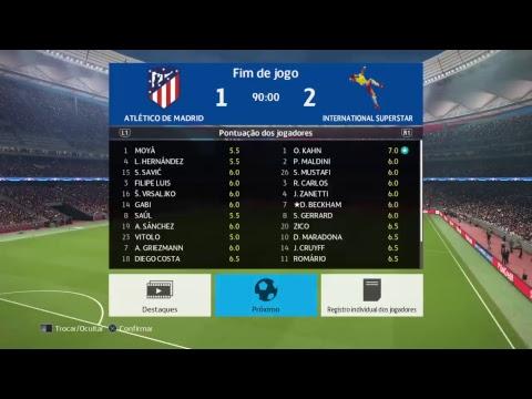 Atlético de Madrid x International Superstar