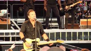 Bruce Springsteen @ Glasgow 2013 - Twist and Shout/La Bamba/Shout