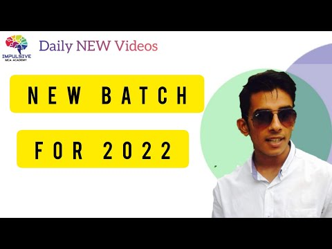 Nimcet: New batch 2022 | Impulsive mca Academy |