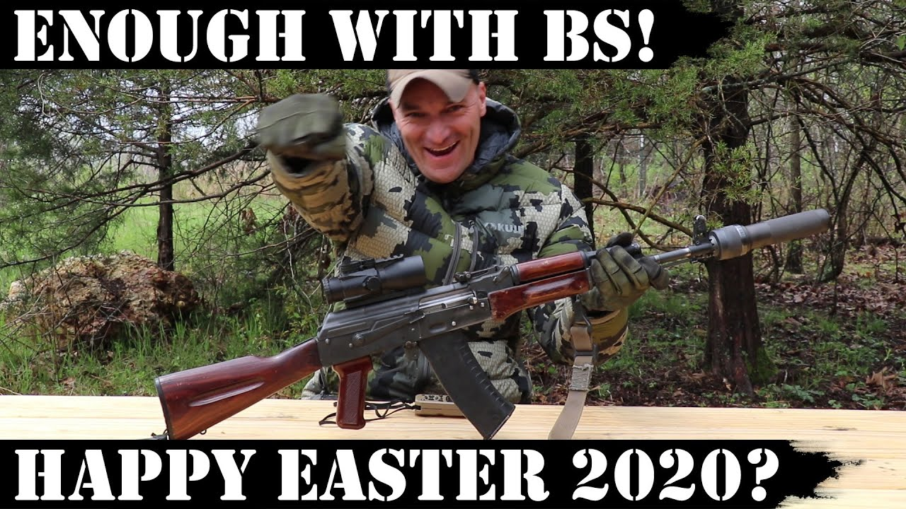 Enough with BS! Happy Easter 2020?