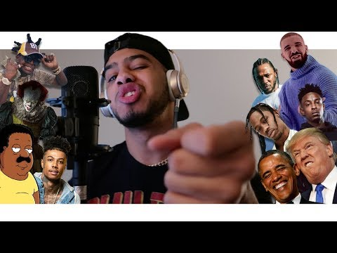 Hit Rap Songs in Voice Impressions! | SICKO MODE, Mo Bamba, Bleed it + MORE!