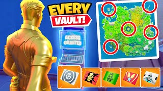 The 5 VAULT CHALLENGE In Fortnite!