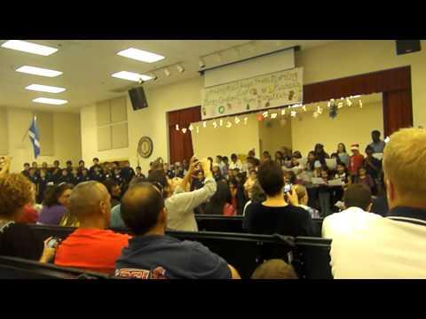 "North Grade Elementary School. ""MERRY CHRSTMAS 2012 "" # 1"