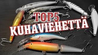 TOP5 KUHAVIEHEET