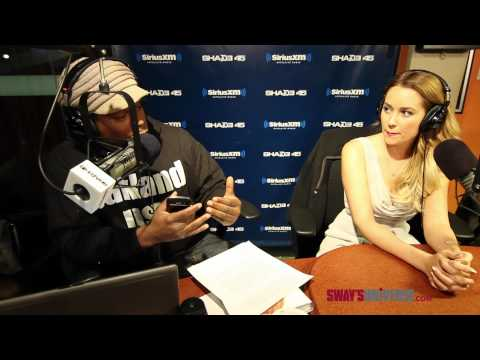 "Lauren Conrad Answers Mystery Sack Question About her ""Favorite Position"" on #SwayInTheMorning"