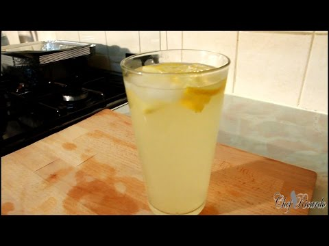 Lemon & Ginger Detox Water /10Kg In 10 Days | Recipes By Chef Ricardo