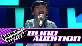 Glenda - Bento | Blind Auditions | The Voice Kids Indonesia Season 3 GTV 2018