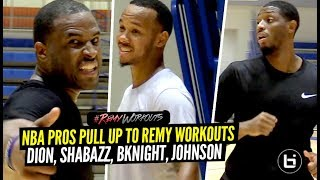 NBA Pros Show Just How GOOD They Are! Dion Waiters & Shabazz Napier GO OFF At Remy Runs!