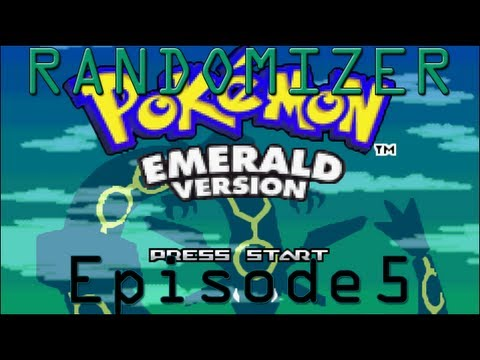 Lets Play Pokemon Emerald Randomizer - Episode 5 - Am I Drea