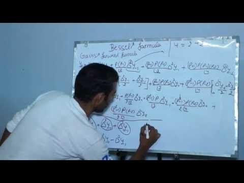 derevation of bessel's & stirling formula and examples