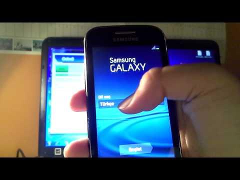Samsung Galaxy Ace 2 jellybean yükleme TÜRKÇE