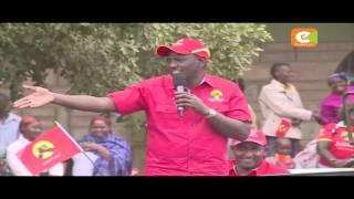 Jubilee yapeleka kampeni zake Machakos