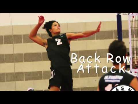 Johansen Negron Volleyball Recruitment Video