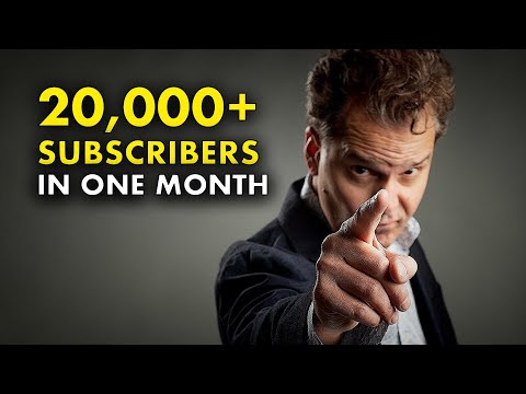 Small YouTube Channel Tips - 20,000+ Subscribers?