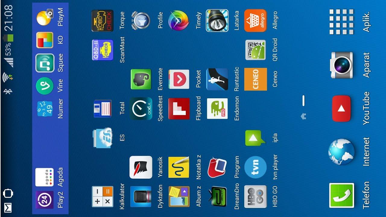 Android I Male Ikony Zageszczona Siatka Ikon Geste Ikony Youtube