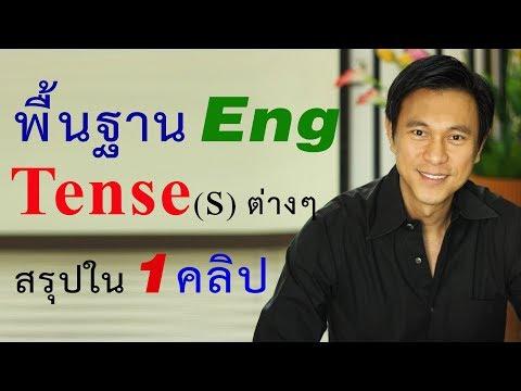 C10-เรียนภาษาอังกฤษพื้นฐาน-Tense (สรุปใน1คลิป)