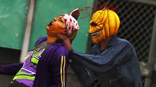 GTA 5 Online - THE GREAT PUMPKIN KILLER MASSACRE! (Part 2) (GTA V Online)
