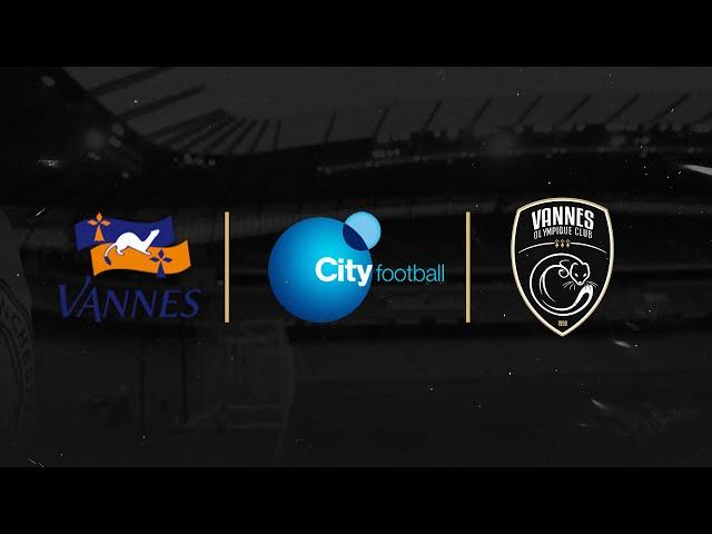 LE VANNNES OLYMPIQUE CLUB PARTENAIRE DU CITY FOOTBALL GROUP !