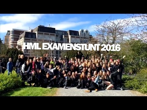 Aftermovie examenstunt HML 2016