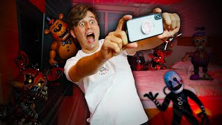 ANIMATRÔNICOS INVADIRAM MEU QUARTO! | Five Nights at Freddy's AR: Special Delivery