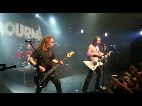 AIRBOURNE en Uruguay! Live It Up/ Runnin' Wild (1/9/17 MMbox)