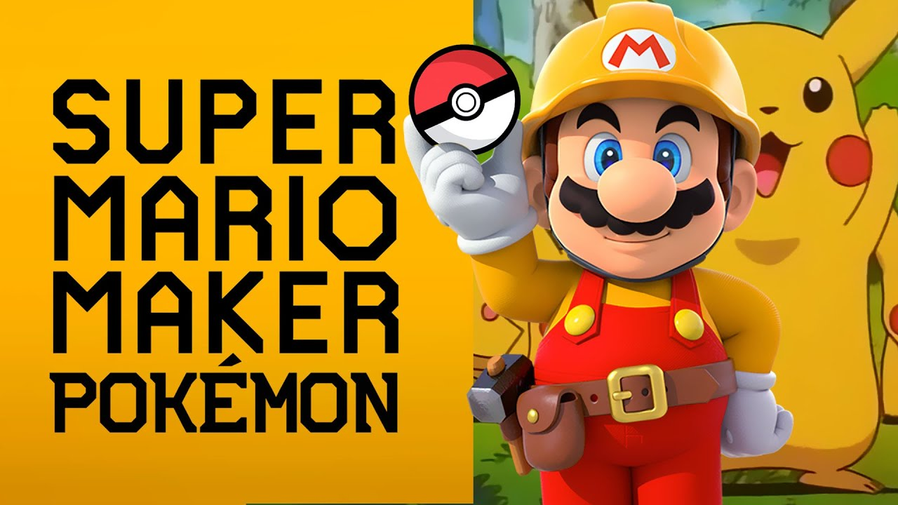 super mario maker pokemon   sorteo dentro  youtube