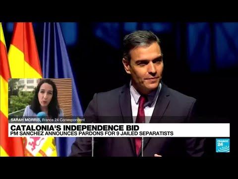 'Considerable political gamble': Spain PM announces pardons for 9 jailed separatists
