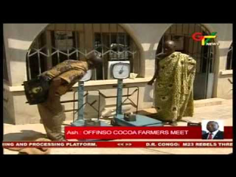 Offinso Cocoa farmers Meet