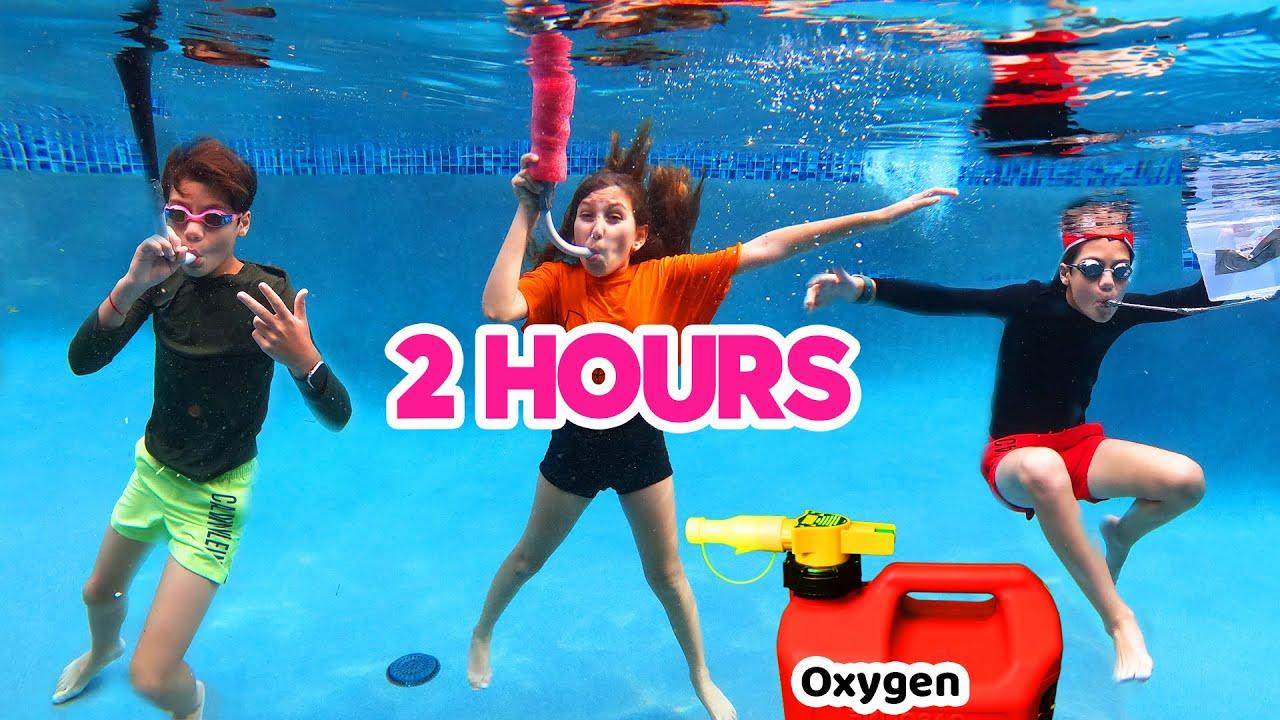 Last to Breathe Underwater WINS $1,000