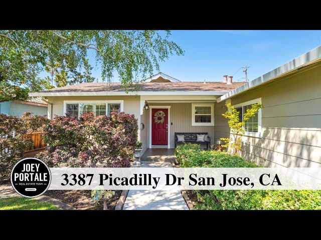 3387 Picadilly Dr San Jose, CA 95118 presented by Joey Portale