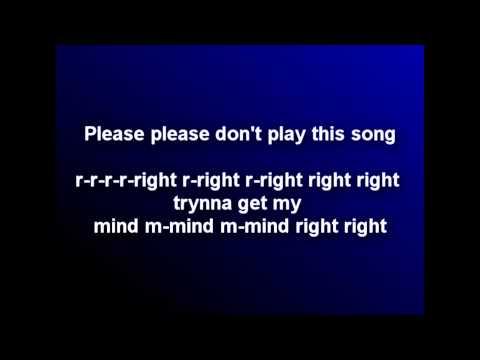 KiD Cudi - Don't Play This Song **LYRICS** [ Man On The Moon II ]