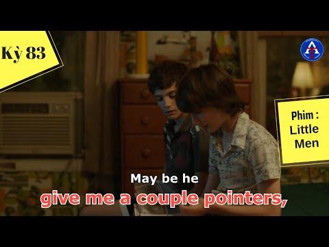[HỌC IDIOM QUA PHIM] - Give Me A Couple Of Pointers (phim Little Men)
