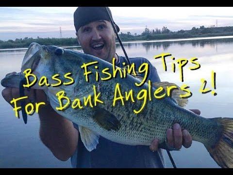 Bass fishing tips for bank anglers part 2 ft matt frazier for Bass fishing youtube