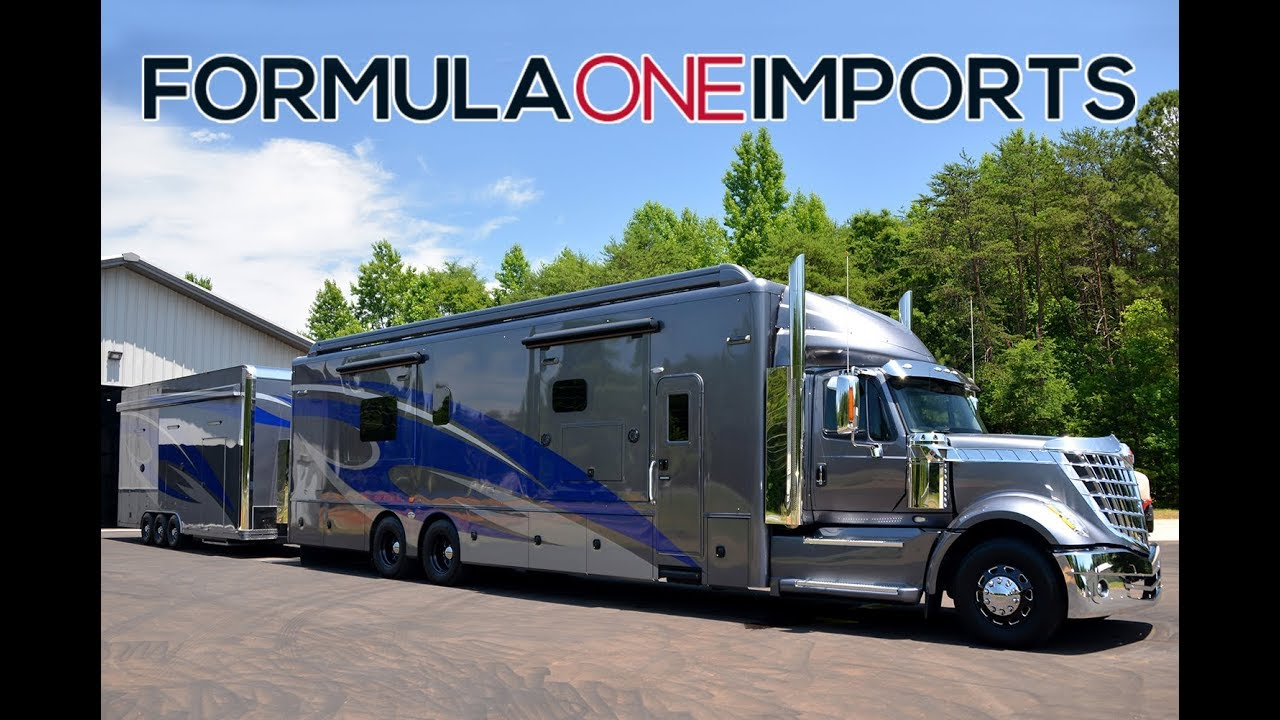 SOLD---2016 Racing Toterhome with Trailer - For Sale - Formula One Imports  Charlotte