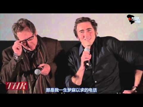 Lee Pace THR  on film Lincoln 有君如佩