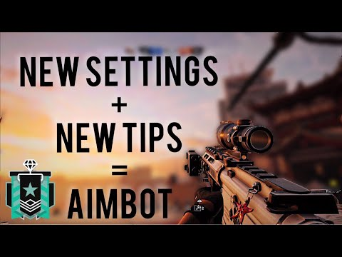 THE BEST WAY TO GET BETTER AIM ON CONSOLE —Rainbow Six Siege PS4 DIAMOND