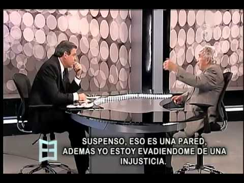 Juan Manuel Cao entrevista a Luis Posada Carriles en El Espejo - América TeVé