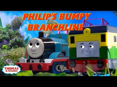 Philip's Bumpy Branchline | Thomas Creator Collective | Thomas & Friends