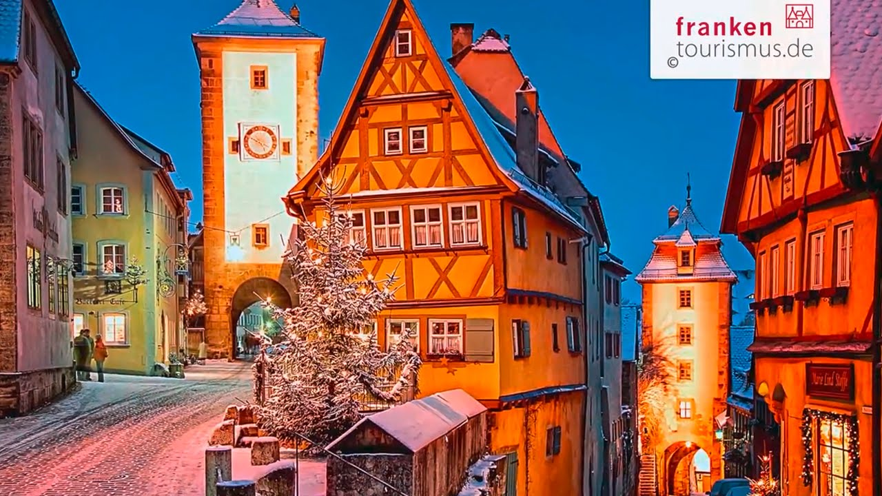 Rothenburger Reiterlesmarkt 2019 Advent Weihnachtsmarkte